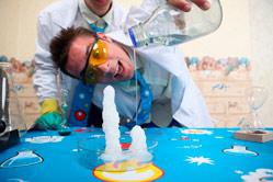 Научное шоу Ньютона на детском празднике
